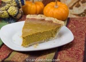 Marijuana Recipes - Pumpkin Pie