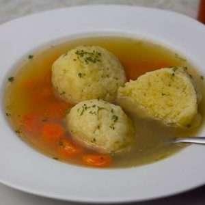 Marijuana Medicated Matza Ball Soup