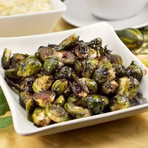 Cannabis Recipes -- Balsamic Roasted Brussels Sprouts
