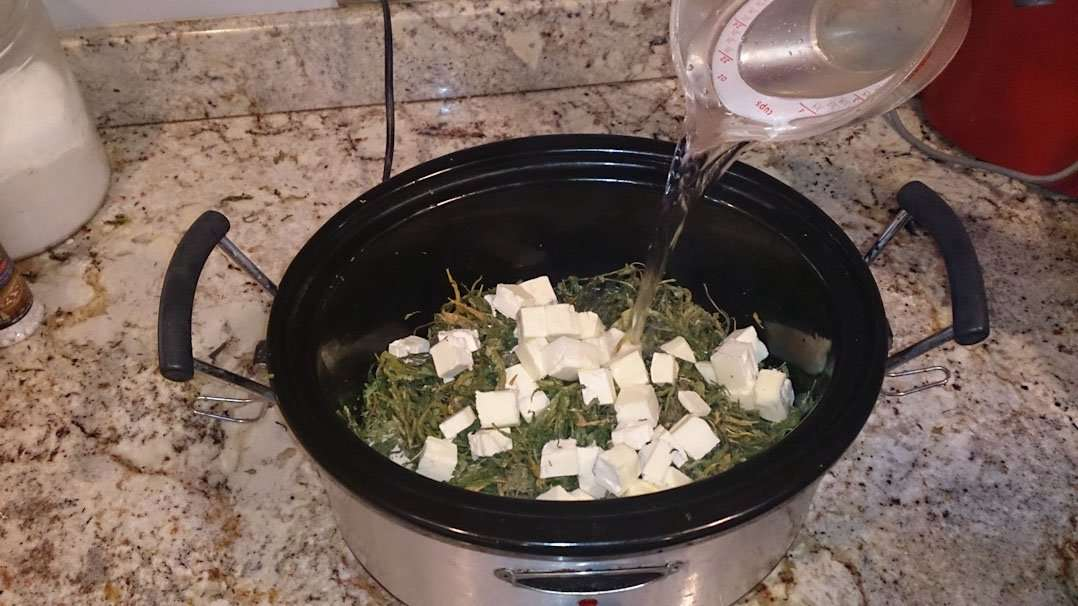 How much marijuana should I use to make butter?