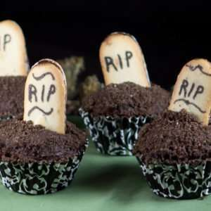 Halloween marijuana Recipes - Death by Chocolate Cupcakes