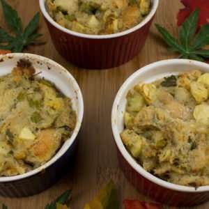 Marijuana recipes -- HERBed Apple Dressing or Stuffing