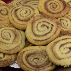 Marijuana Recipes -- Cinnamon Roll Cookies