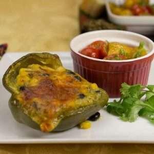 marijuana recipes - tamale stuffed peppers
