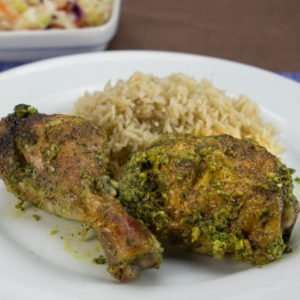 Chicken Marijuana Recipes - Chicken in Green Sauce