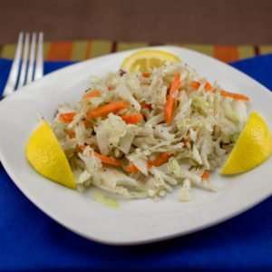 Picnic Marijuana recipes, Lemon Garlic Slaw