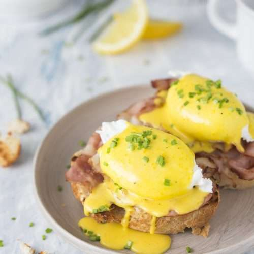 Eggs Benedict - The Easy Cannabis Cookbook by Cheri Sicard