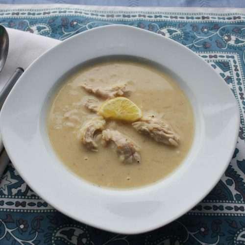Marijuana Chicken Soup - Avgolemono
