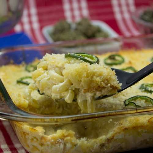 Jalapeno Marijuana Mac and Cheese