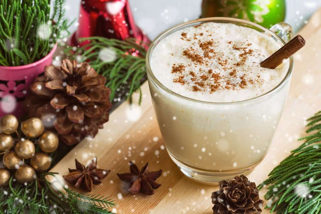 Vegan CBD Eggnog Recipe
