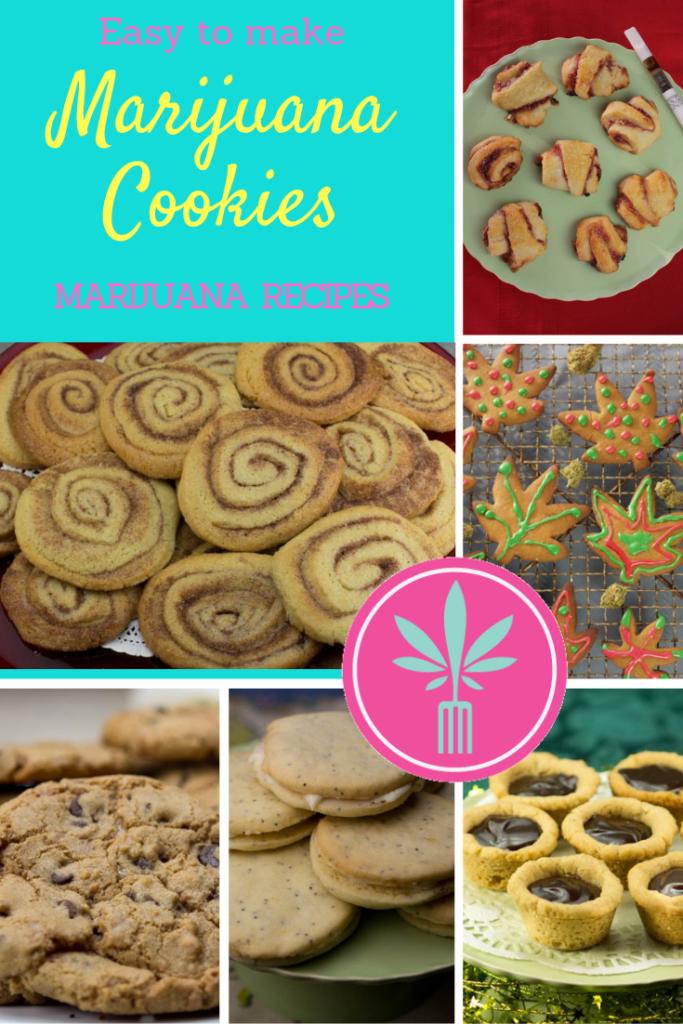 photos of marijuana infused cookies
