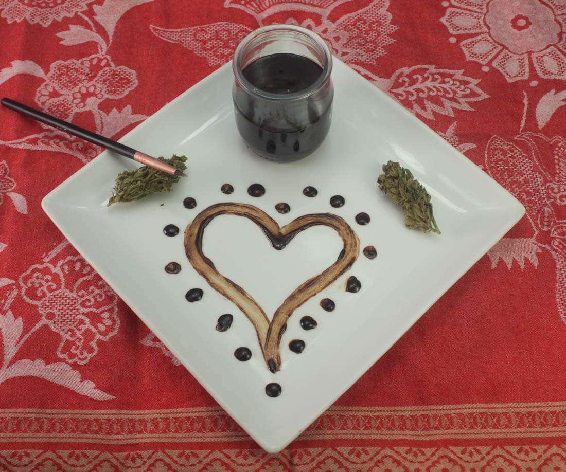 Sex Pot Marijuana Chocolate Edible Body Paint Recipe Cannabis Cheri
