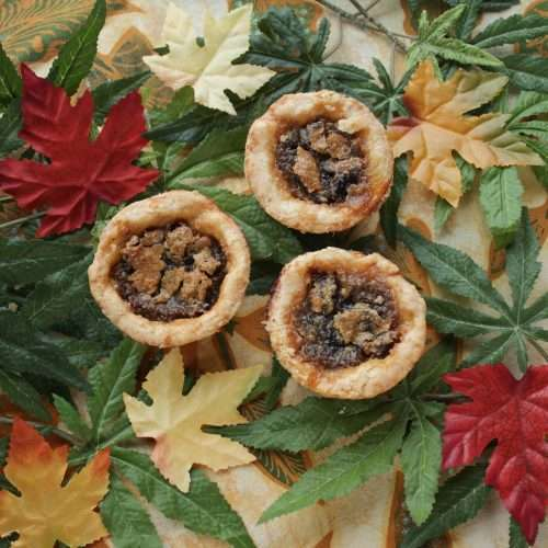 marijuana infused butter tarts