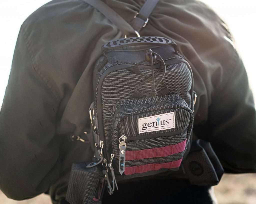 Genius Smellproof Waterproof Backpack