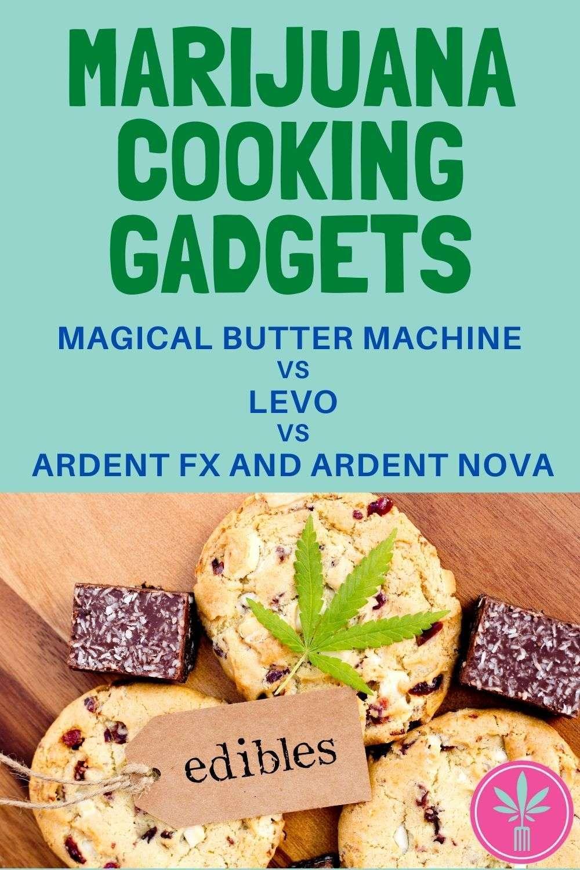 marijuana edibles, title card for gadget comparison