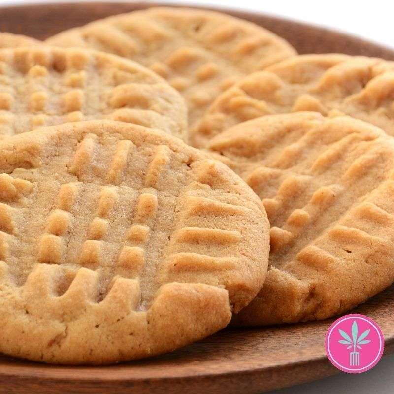 Cannabis Cookies - Pot Peanut Butter Cookies
