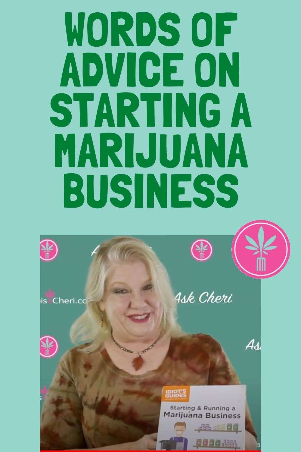 title card for advice on starting a marijuana business