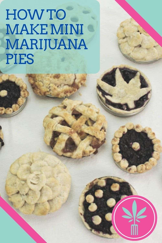 Cannabis Infused Mini Apple Pies