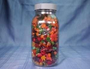 Big Jar of Home Cannabis Gummies