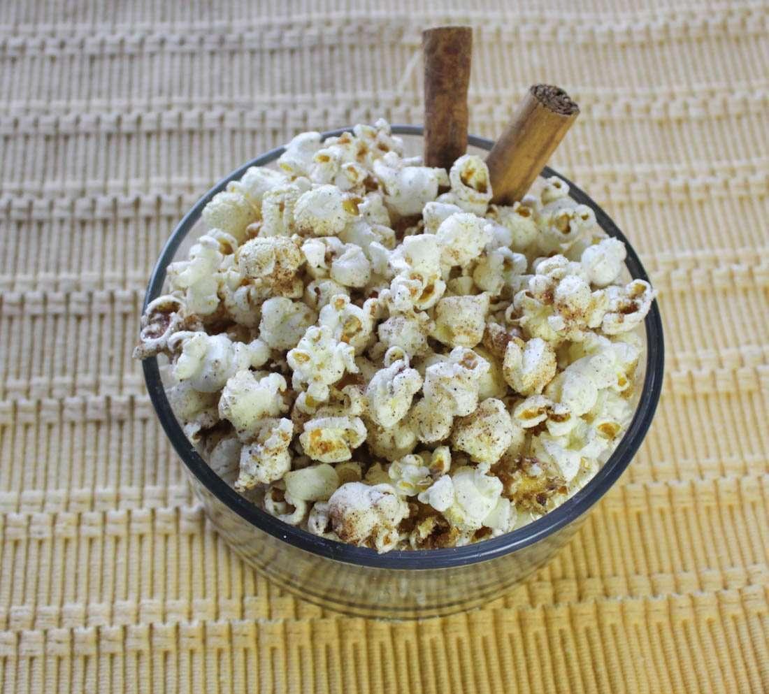 Cannabis Infused Cinnamon Sugar Pot Popcorn
