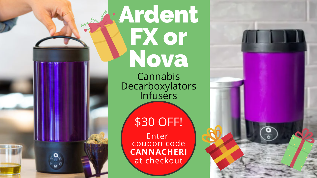 Ardent FX and Ardent Nova decarboxylator and Infuser in a Single Device