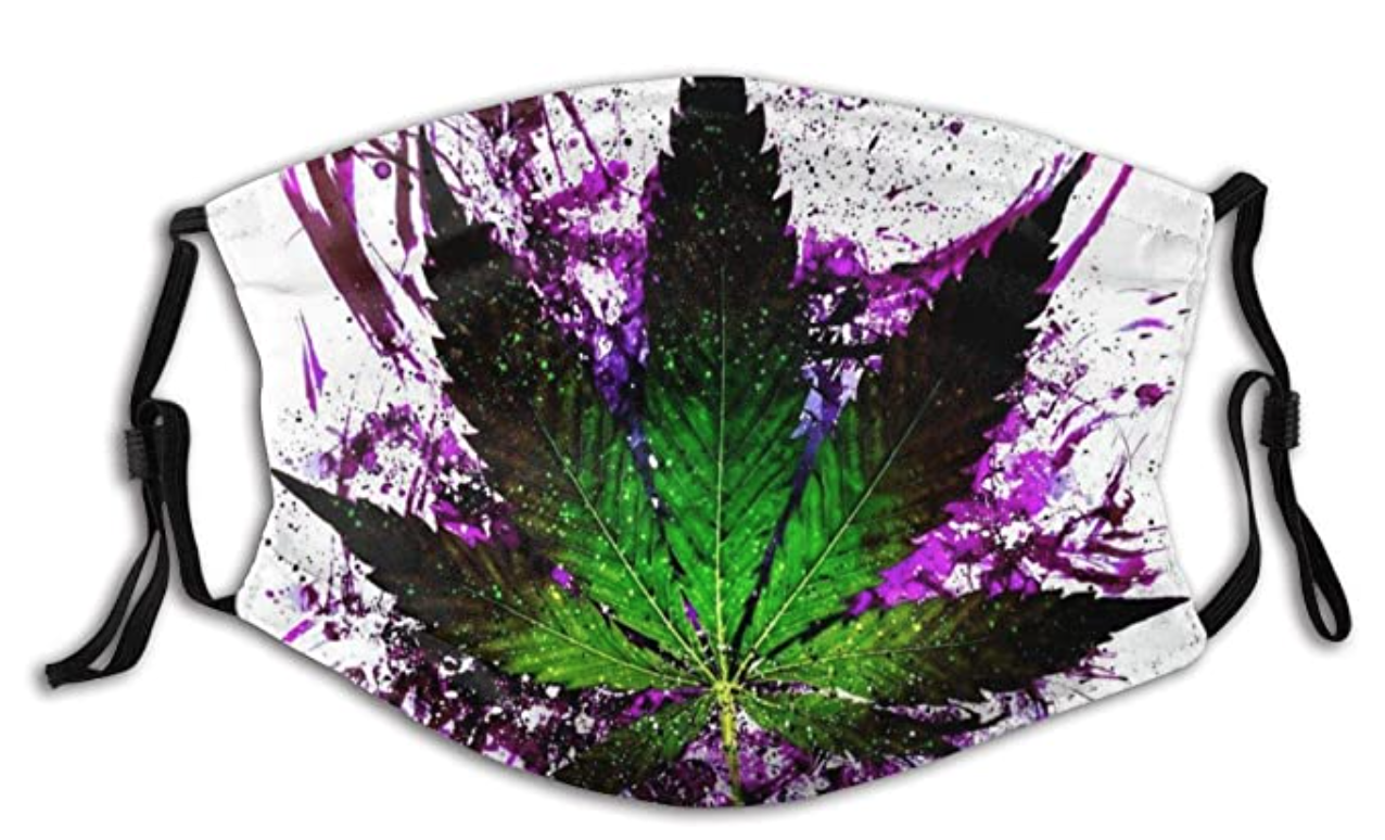 Marijuana Mask with Replaceable Filters