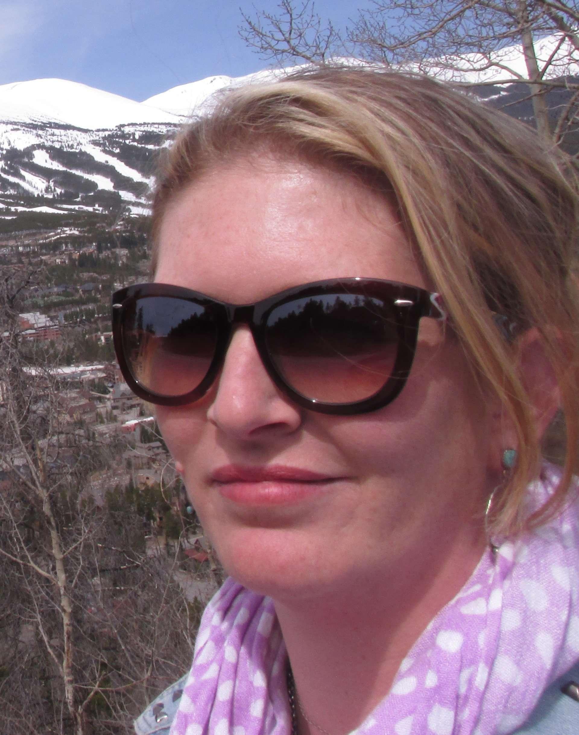 Activist and jewelry designer Vanessa Waltz