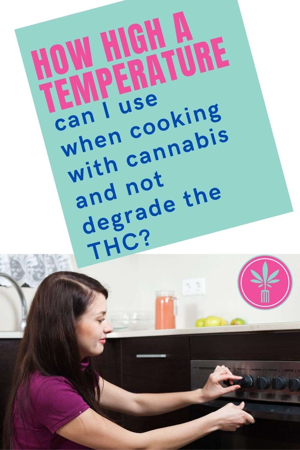 How High a Temperature Can I use When Cooking with Cannabis and Not Degrade the THC?