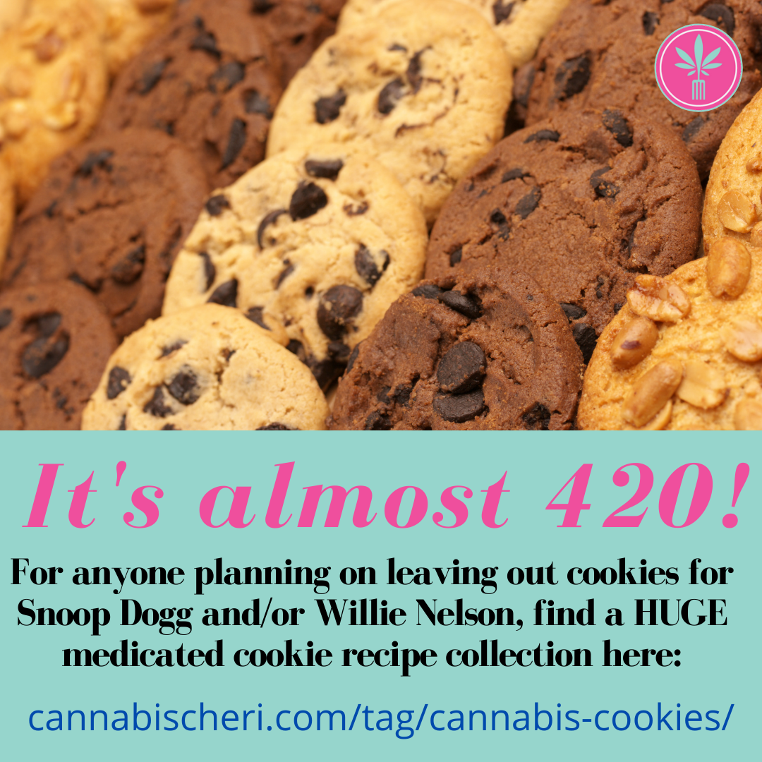 Cannabis Cookie recipes for 420 to leave out for Snoop Dogg or Willie Nelson