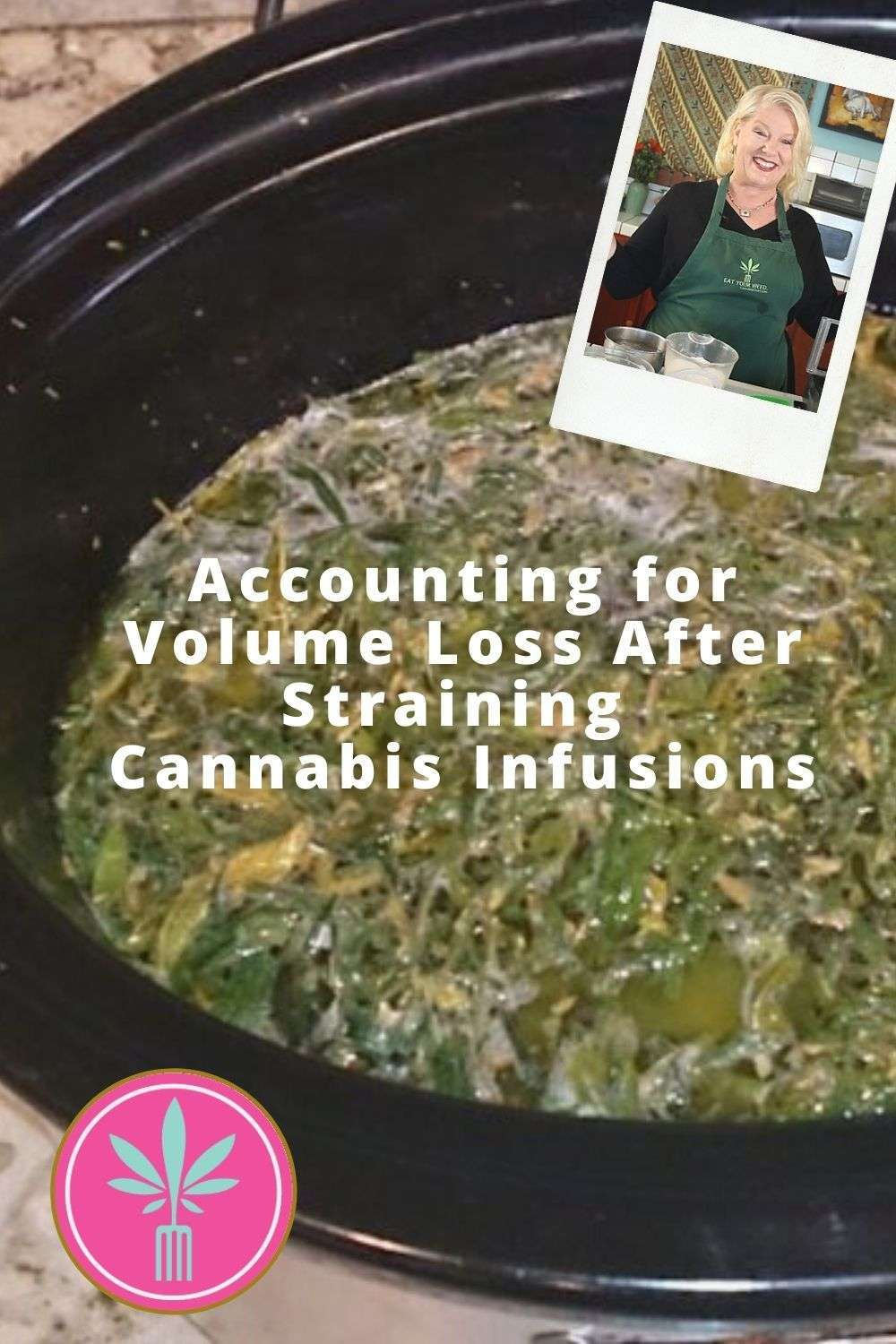 Article title card for How to Account for Volume Loss After Straining Marijuana Infusions