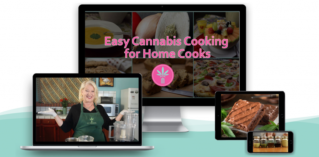 Cannabis Cooking for Home Cooks online course by Cheri Sicard