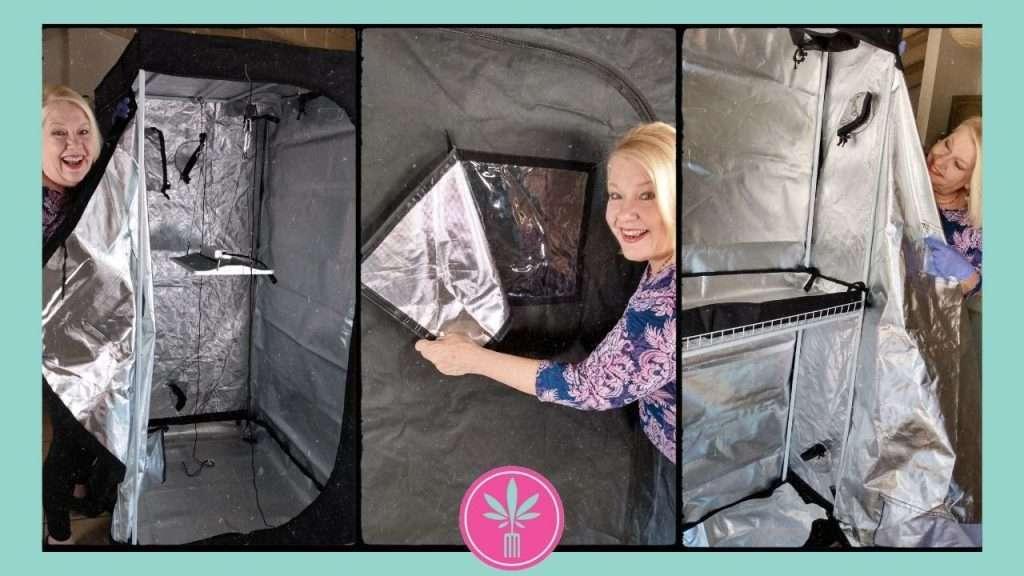 Vipar-Spectra 2 Room Grow Tent