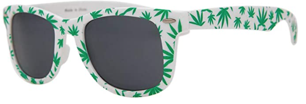 Marijuana Leaf Sunglasses